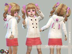 Rabbit Ear Hoodie Coat-toddler | Studio K Creation