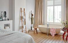 Scandinavian Living, Clawfoot Bathtub, Bathroom Inspiration, Bathroom Interior, Interior And Exterior, Master Bedroom, Living Spaces, House, Bath Room