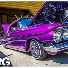 Lavender/Purple action...