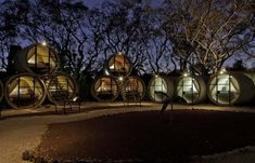"""Das """"Tubo Hotel"""" – umweltfreundliches Betonrohr-Hotel in Mexiko"""