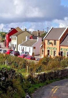 ~Doolin Village ~ County Clare, Ireland~ Some of the best times I've had in Ireland has been in the tiny village of Doolin.