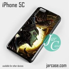 Maleficent art YP Phone case for iPhone 5C and other iPhone devices