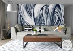 """Wall Mural """"Abstraction"""" #abstract #wallart #wallmural #PIXERS"""