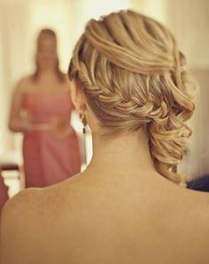 braid side curls