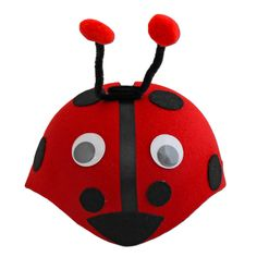 Our children's ladybird skull cap is prefect for school plays and dress up parties. Make sure your little one looks the part with this cool animal hat. Painted Tin Cans, Childrens Fancy Dress, School Play, Animal Hats, Ladybug, Dress Up, Skull, Cap, Plays