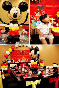 Charming Mickey & Friends First Birthday