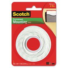 Double sided tape for sooooo many uses!