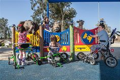 Gallery of Inclusive Playgrounds built by Shane's Inspiration   Landscape Structures