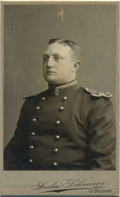 Aan mijn vriend Herman, 'S Bosch, 1 Aug 1904, Kees. To my friend Herman from Kees. 'S Bosch, 1 aug 1904