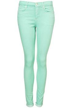 The next pair of jeans I will be buying, mint is one of my favourite colours for this season