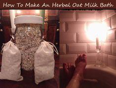 Bath Tea, Milk Bath, Medicinal Herbs, Bath Salts, Bath And Body, The Balm, Herbalism, Essential Oils, Wicca