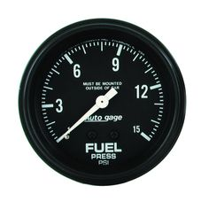Auto Meter 2311 Autogage Fuel Pressure Gauge -- More info could be found at the image url. (This is an affiliate link) Electrical Problems, Electrical Switches, Electrical Wiring Diagram, Fuel Pressure Gauge, Gauges Size Chart, Braided Hose, Street Performance, Hyundai Accent, Autos