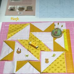 #quiltblocks #patchwork  . . . . #quilt #fabric #cotton #handmade #inprogress #yellow #quilting #ручнаяработа #beautiful #sewing #perfect #sew #thread #workinginprogress #diy #piorfepatch