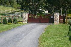 driveway gate plans   Gate Design   Installation   Driveway Gates   Entry Gates   Entrance ...