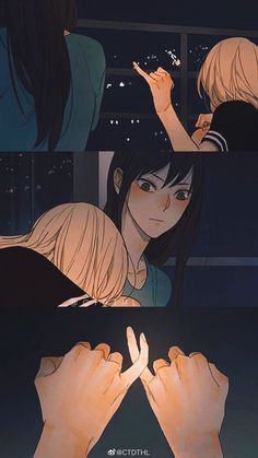 Anime Girlxgirl, Yuri Anime, Chica Anime Manga, Anime Couples Drawings, Cute Anime Couples, Yuri Love, 19 Days, Manhwa Manga, Cute Anime Character