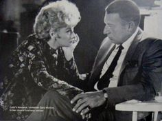 Lucille Ball and her second husband Gary Morton