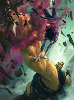 Nightcrawler vs Blob •Fred Rambaud