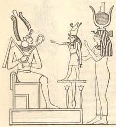 osiris isis and horus