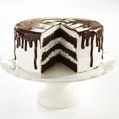 Our recipe for Chocolate Shadow Cake from the Cook's Country Fair: Frosted Layer Cake Competition.