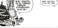 Acquittal on all charges! - Calvin & Hobbes