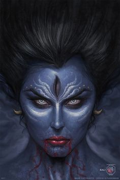 ArtStation - Kali - The Divine Mother Mahasakti, Yogesh Pugaonkar Mother Kali, Divine Mother, Mother Goddess, Indian Goddess Kali, Durga Goddess, Indian Gods, Divine Goddess, Lord Shiva, Mahakal Shiva