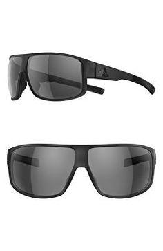 e5b834dd9c ADIDAS Designer Horizor 67mm Wraparound Sport Sunglasses