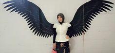 Serasa jadi black angel  #pengennya seperti mockingjay ✌