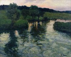 Fritz Thaulow (1847-1906), landscape with River - Google Search