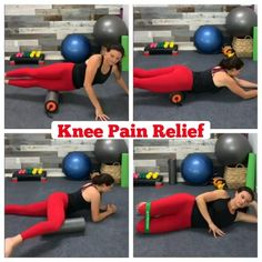 Knee Pain relief Remedies and Since our knees take much of the impact during exercise and everyday activities, it is important to keep them healthy. If not, you risk the chance of damaging or wearing down the protective cartilage, and you will end up with Stretches For Knees, Yoga For Knees, It Band Stretches, Runners Knee Stretches, Flexibility Stretches, Itbs Stretches, Running With Bad Knees, Stretching, Knee Strengthening Exercises