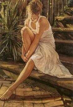 Steve Hanks Watercolor Paintings