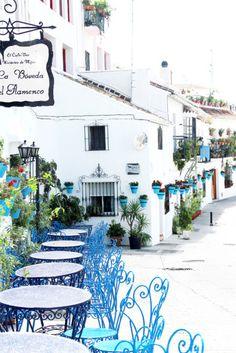 スペインの白い村、ミハス                                                                                                                                                      もっと見る