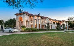 $5.95 Million 10,000 Square Foot Mediterranean #Mansion In Dallas, TX.