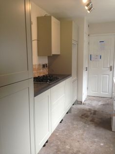 Howdens kitchen starting to take shape- burford grey