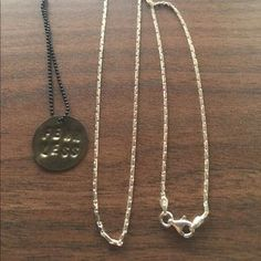I just added this to my closet on Poshmark: Silver necklace chain .925. Price: $23 Size: OS