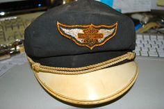 Vintage Harley Davidson Motorcycle Hat 02f29610b52