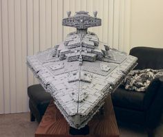 Guy Builds Amazing Lego Star Destroyer With Three Level Interior