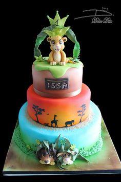 """Gâteau Disney """"Le Roi Lion"""" Réalisé par Dolce Dita"""