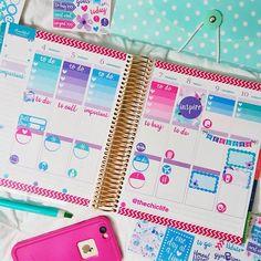 Planner Decorations April 2016 (Erin Condren Vertical)