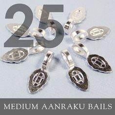 GENUINE AANRAKU Medium size  25 Sterling Silver by AnnieHowes, $12.75