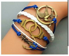 Hunger games bracelet set!! WANNNNTT