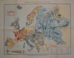 Zuppa di Vetro TUMBLR! - Satirical maps of the Great War, 1914-1915
