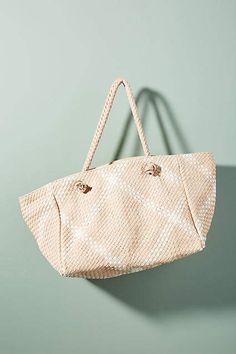 Claramonte Vasco Woven Leather Tote Bag · Leather Tote BagsLeather TotesLeather  ... 064091f63ed9f