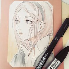 I have opened a smal store where you can get some original sketches, for start very cheaply! I would be very happy if you can visit and let me know how I can make this shop better ^ー^ Thanks! link in bio (ladowska.storenvy.com) #sketcheveryday #mangagirl #manga #sketch #anime #portrait #pencil #漫画 #アニメ #女 #スケッチ