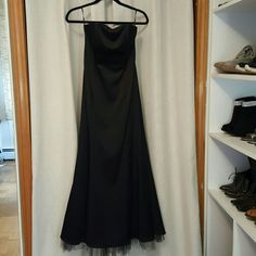 Elegant Full Lenght Bustier Gown.