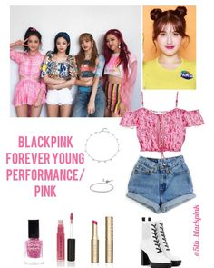 Kpop Fashion Outfits, Blackpink Fashion, Ulzzang Fashion, Stage Outfits, Korean Outfits, Dance Outfits, Korean Fashion, Cute Outfits, Fanta