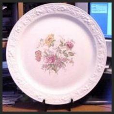 Homer Laughlin Eggshell Theme TH6 Chop Plate by lovevintagehouseware, $39.95 Vintage dinnerware. Ohio River Pottery