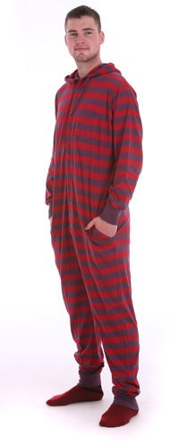 It is very essential to wear comfortable night wears and from medical point of view it is necessary also. Footed pajamas are the best choice to wear at night for long sleep. Adult Onesie Pajamas, We Wear, How To Wear, One Piece Pajamas, Summer Events, Nightwear, Parachute Pants, Onesies, Silly Quotes