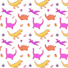 Had fun making a dino fruit pattern! A variety of items are now on society6:) http://society6.com/emmyreisillustration/dino-fruit-pattern-print_iphone-case#52=377