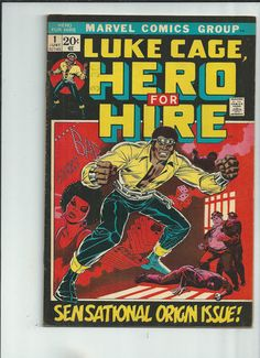LUKE CAGE HERO FOR HIRE #1 Fantastic Bronze Age key! First Luke Cage!!! http://r.ebay.com/w9EMsg