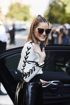 The Olivia Palermo Lookbook : Olivia Palermo At Milan Fashion Week VI